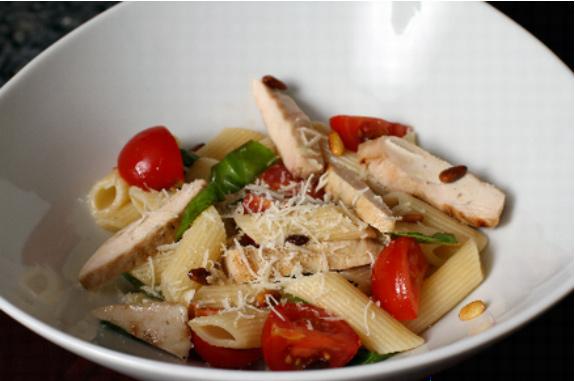 pasta-grilled-chicken