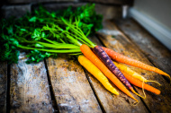 stock-photo-35559164-colorful-carrots-on-rustic-wooden-background