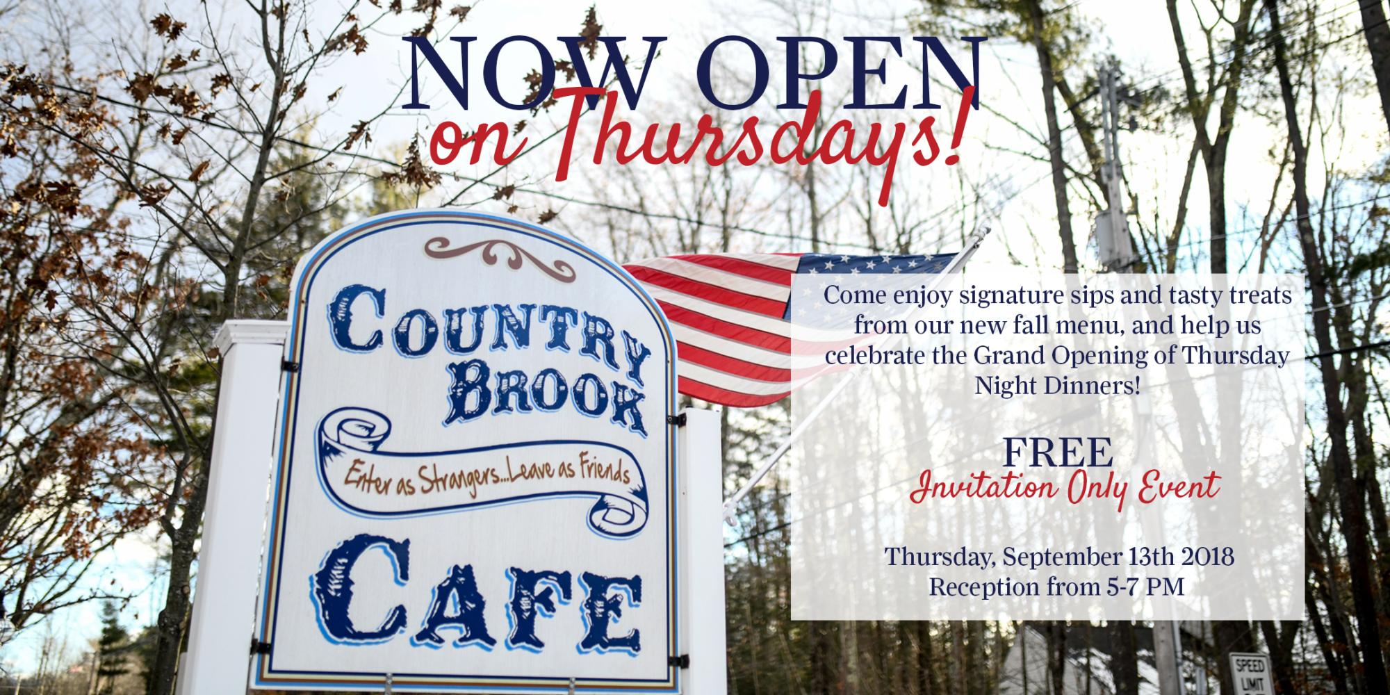 cd1e2b127ab The Farm at Eastman's Corner - Now Open on Thursdays: Dinner at ...
